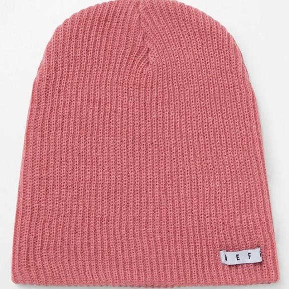 8038e755 Neff Light Pink Beanie Winter Hat. M_5bccf1dadf0307c64de93312